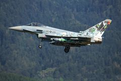 Eurofighter巴伐利亚人老虎 免版税库存图片