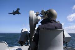 eurofighter αεριωθούμενος τυφώνα& Στοκ Εικόνες