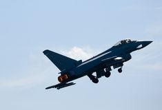 eurofighter τυφώνας F2 στοκ εικόνες