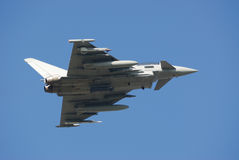 Eurofighter. A Typhoon - Eurofighter - on test Stock Images