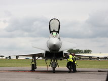 Eurofighter Imagem de Stock Royalty Free