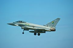 Eurofighter Royalty Free Stock Photo