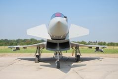 Eurofighter 2000 typhoon Royalty Free Stock Images