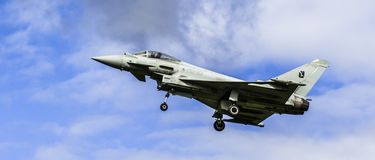 Eurofighter Typhoon royaltyfri foto