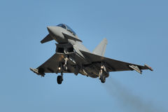 Eurofighter typhoon Stock Image