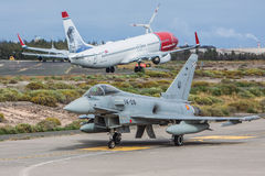 Eurofighter Typhoon DACT17 Image libre de droits