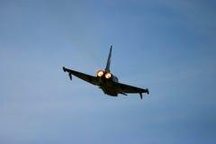 Eurofighter Typhoon en el tatuaje del aire de RAF Fairford Fotos de archivo libres de regalías