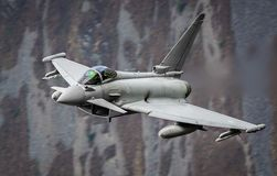 Eurofighter Typhoon fighter jet Royalty Free Stock Photography