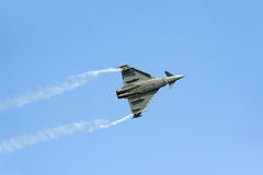 Eurofighter Typhoon fighter plane Stock Images