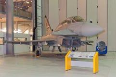Eurofighter Typhoon, IWM Duxford royalty-vrije stock fotografie