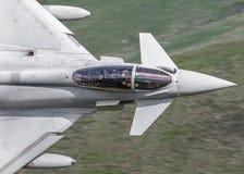 Eurofighter Typhoon jet cockpit stock photo