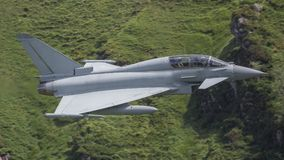 Eurofighter Typhoon stråle Royaltyfri Bild