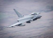 Eurofighter Typhoon stråle Royaltyfri Foto