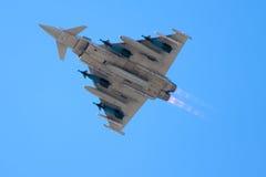 eurofightertyphoon Royaltyfria Bilder