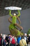 Euroflora 2011 - Flores gigantes Fotografía de archivo libre de regalías