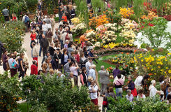 Euroflora 2011 - public pour des occasions spéciales Photographie stock