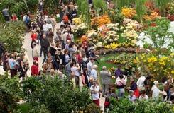 Euroflora 2011 - publiek voor speciale gelegenheden Stock Fotografie