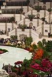 Euroflora 2011 - stands de fleur Images libres de droits