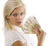 Eurofrau Lizenzfreie Stockfotografie
