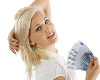 Eurofrau Lizenzfreie Stockfotos