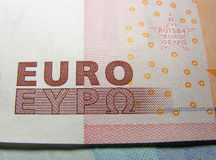 Eurogeld Stockfotos