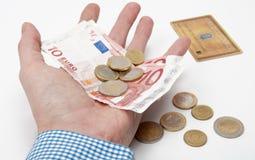 Eurogeld Lizenzfreie Stockfotografie
