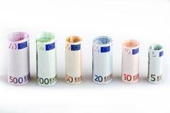 Eurogeld Lizenzfreies Stockfoto