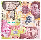 Eurogeld in der Hand Lizenzfreie Stockbilder