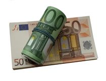 Eurogeld lokalisierte einen Satz Europng stockbilder