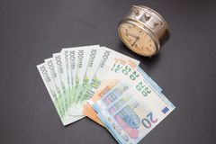 Eurogeld-Währung Stockfotos