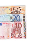 Eurogelddetail Stockbilder