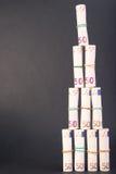 Eurogeldturm Stockbild