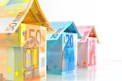 Eurohäuser Lizenzfreie Stockbilder