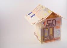 Eurohaus lizenzfreie stockbilder