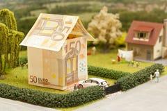 Eurohauslandschaft Lizenzfreies Stockfoto