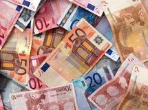 Eurohintergrund Lizenzfreies Stockfoto