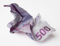 Eurohintergrund Stockbild