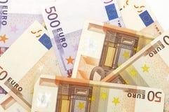 Eurohintergrund lizenzfreie stockfotos