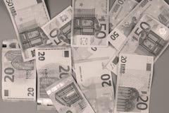 Eurohintergrund Stockbilder