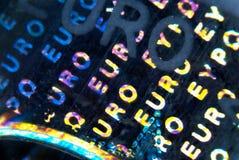 Eurohologramm Stockbilder