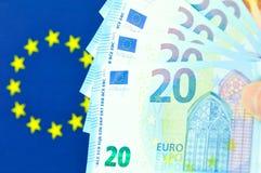 Eurolandkonzept Stockfotos