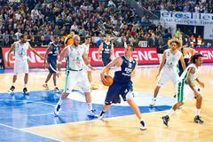 Euroleage Basketball-Meisterschaft stockfotografie