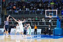 Euroleague Basketball, Efes Pilsen - M. Siena lizenzfreie stockfotos