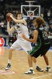 Euroligue top16小组G篮球比赛 库存图片