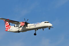Eurolot Airline plane Stock Photography