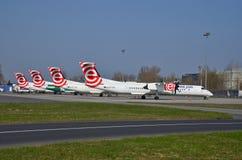 Eurolot-Flächen Lizenzfreies Stockfoto