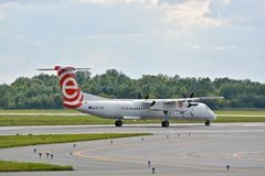 Eurolot plane Royalty Free Stock Photography