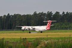 Eurolot plane Royalty Free Stock Image