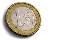 Euromünze Stockbild