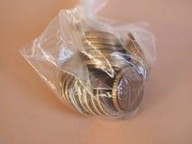 1 Euromünze, Europäische Gemeinschaft Lizenzfreie Stockbilder
